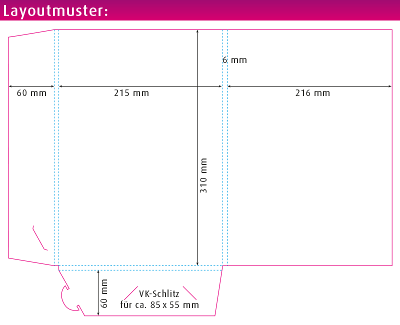 Layoutmuster Dokmappe