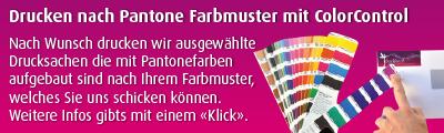 Farbmuster